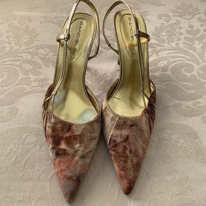 Bandolino Velvet Heels